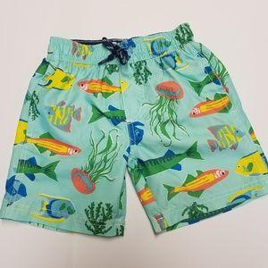 Carters 3T boys swim trunks